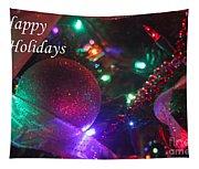 Ornaments-2130-happyholidays Tapestry
