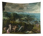 Orpheus And Eurydice Tapestry