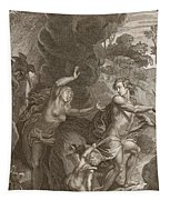 Orpheus, Leading Eurydice Out Of Hell Tapestry