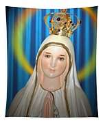 Our Lady Of Fatima Tapestry