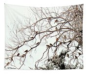 Out On A Limb First Snow Tapestry