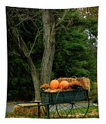 Outdoor Fall Halloween Decorations Tapestry