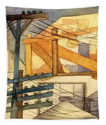 Outdoor Scaffolding  Tapestry