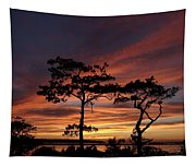Outer Banks Sunset Tapestry