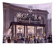 Outside The Theatre Royal, Drury Lane Tapestry