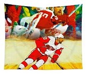 Over The Boards Tapestry
