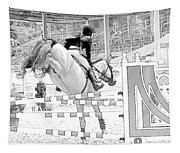 Over The Jump Tapestry