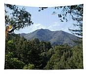 Over The Mountain Tapestry