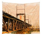Over The River Tapestry