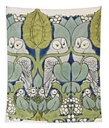 Owls, 1913 Tapestry