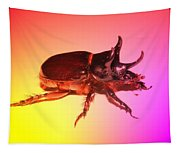 Ox Beetle In Color Tapestry