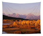 Oxbow Bend Grand Teton National Park Wy Tapestry