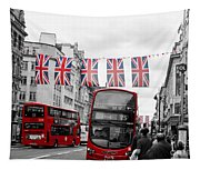 Oxford Street Flags Tapestry