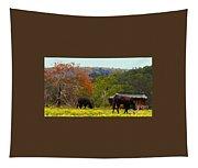 Ozark Cows Tapestry