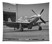 P-51d Spam Can Tapestry