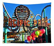 Pacific Park On The Pier Tapestry
