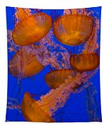 Pacific Sea Nettle Cluster 2 Tapestry