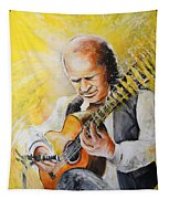 Paco De Lucia Tapestry