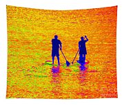 Paddle Board Paradise Tapestry