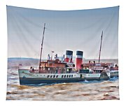 Paddle Steamer Waverley Tapestry