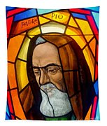 Padre Pio Tapestry