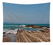 Pages Into The Sea No1 Tapestry