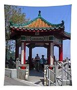 Pagoda Pavilion Tapestry