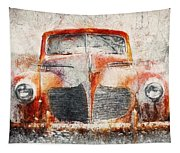 Painted 1940 Desoto Deluxe Tapestry