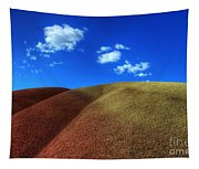 Painted Hills Blue Sky 1 Tapestry