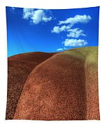 Painted Hills Blue Sky 2 Tapestry