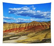 Painted Hills Blue Sky 3 Tapestry