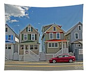 Painted Ladies Of Somers Point Tapestry
