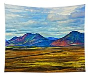 Painted Mountain Tapestry