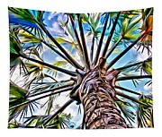 Painted Palms Tapestry