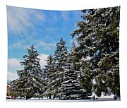 Painted Pines Tapestry