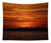 Painting In The Sky Tapestry