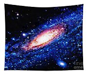 Painting Of Galaxy Tapestry