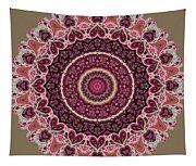 Paisley Hearts Tapestry