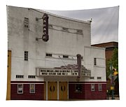 Palace Movie Theater Tapestry