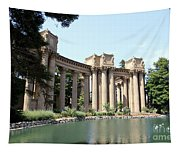 Palace Of Fine Arts Colonnades  Tapestry