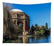 Palace Of Fine Arts In Color Tapestry