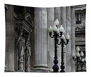 Palacio Del Congreso Argentina Tapestry