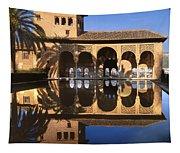 Palacio Del Partal La Alhambra Tapestry