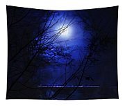 Pale Moon Tapestry