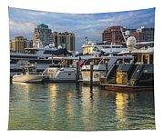 Palm Beach Marina Tapestry