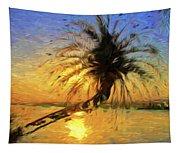 Palm Beauty Tapestry
