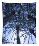 Palm Trees In The Sun Tapestry
