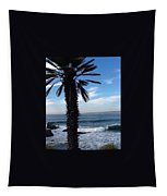 Palm Waves Tapestry