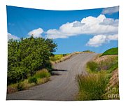 Palouse Country Road Tapestry