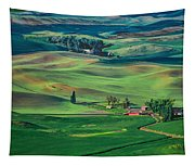 Palouse - Washington - Farms - 4 Tapestry